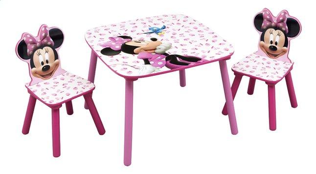 Image pour Table avec 2 chaises Minnie Mouse à partir de DreamLand