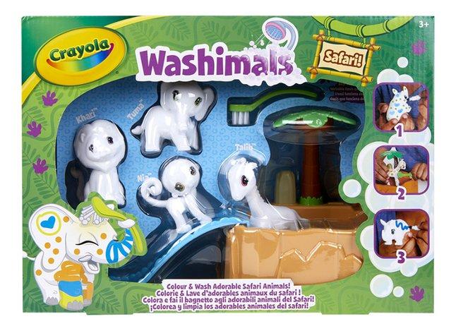 Crayola Washimals Colour & Wash Adorable Safari Animals!