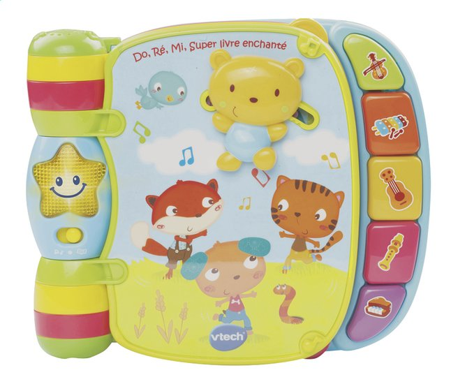 Vtech Do Re Mi Super Livre Enchante Bleu