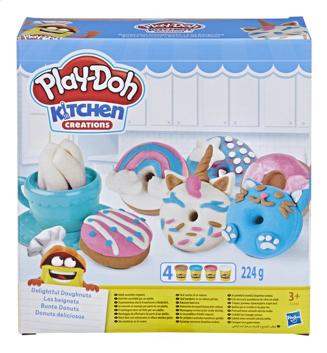 Afbeelding van Play-Doh Kitchen Creations Donuts from DreamLand