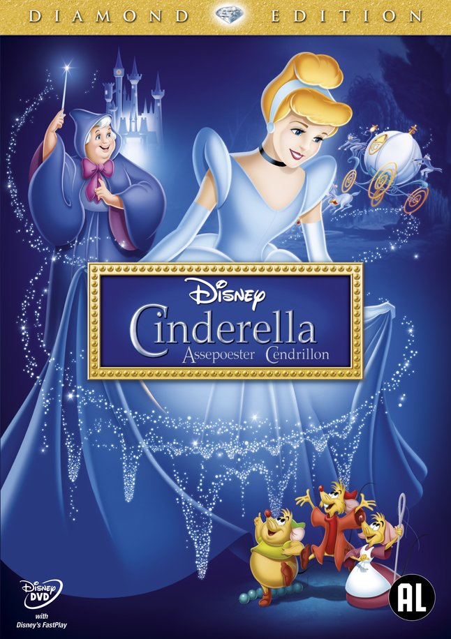 Afbeelding van Dvd Disney Assepoester - Diamond Edition from DreamLand