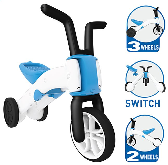 Image pour Chillafish vélo sans pédales Bunzi bleu/blanc à partir de DreamLand