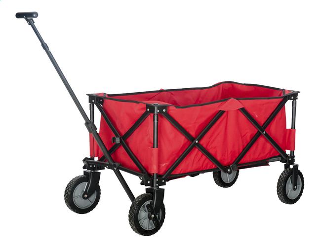 Image pour Campman Chariot pliant rouge à partir de DreamLand