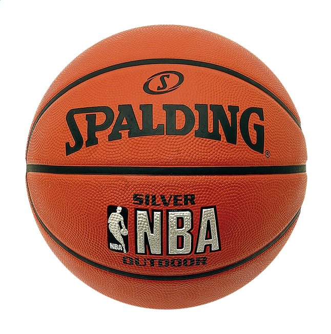 Spalding ballon de basket NBA Silver Series outdoor taille 5