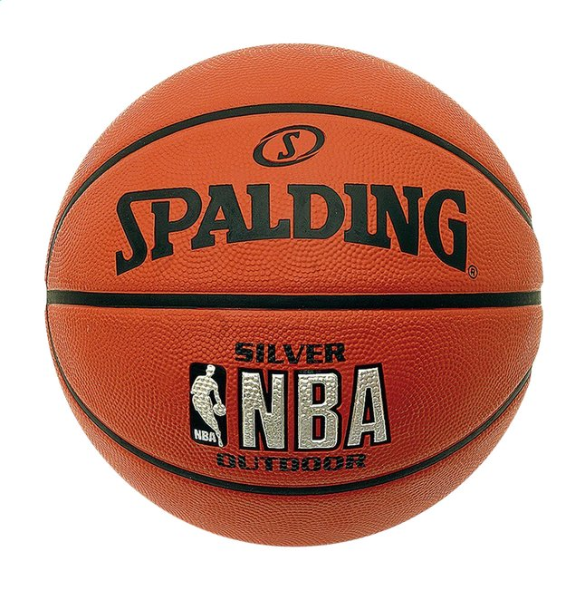 4c703f4eb07c9 Image pour Spalding ballon de basket NBA Silver Series outdoor taille 7 à  partir de DreamLand