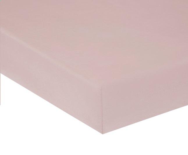 Image pour Home lineN Drap-housse Bicolore rose flanelle 160 x 200 cm à partir de DreamLand