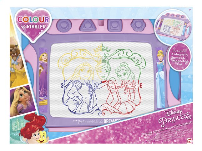 Afbeelding van Magische lei Disney Princess Deluxe Colour Magnetic Scribbler from DreamLand