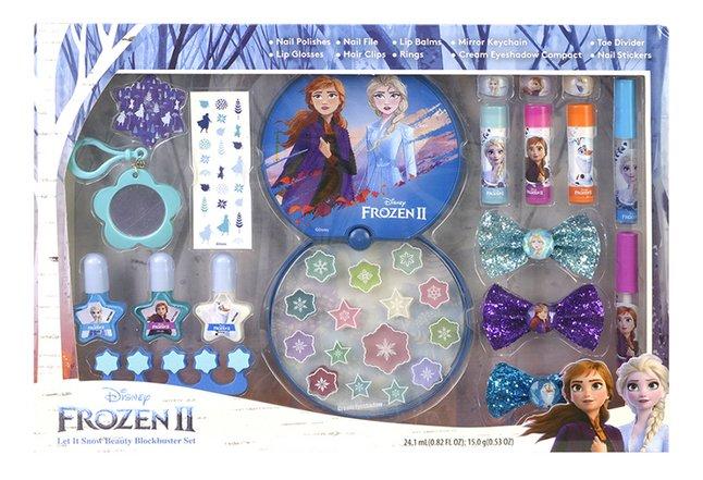 Coffret-cadeau Disney La Reine des Neiges II Let It Snow Beauty Blockbuster Set