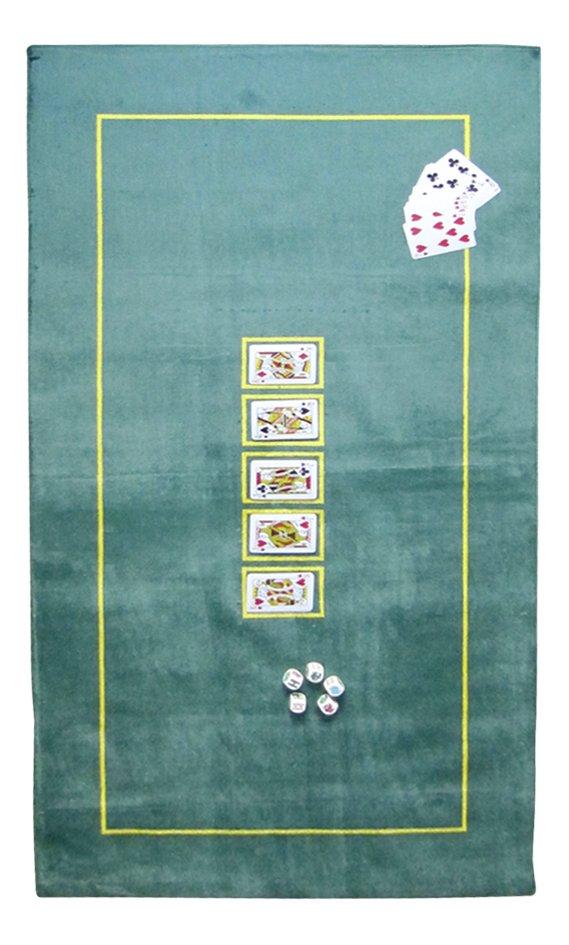 Image pour Tapis de poker 150 x 75 cm vert à partir de DreamLand