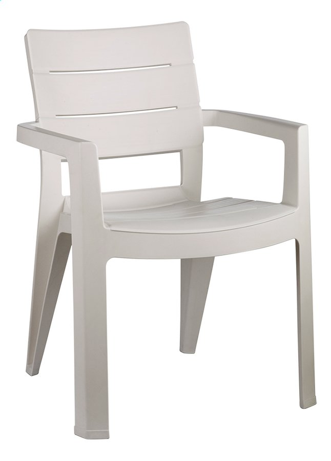 Allibert chaise de jardin Ibiza blanc