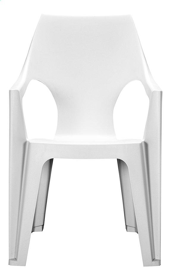 Allibert chaise de jardin Dante haut dossier blanc