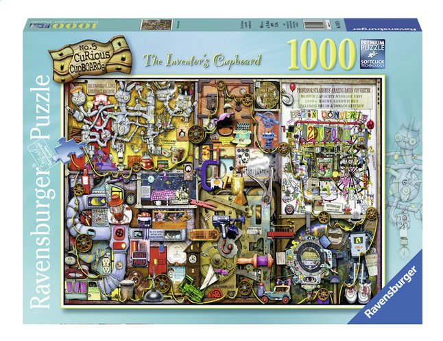 Afbeelding van Ravensburger puzzel Colin Thompson The Inventor's Cupboard from DreamLand