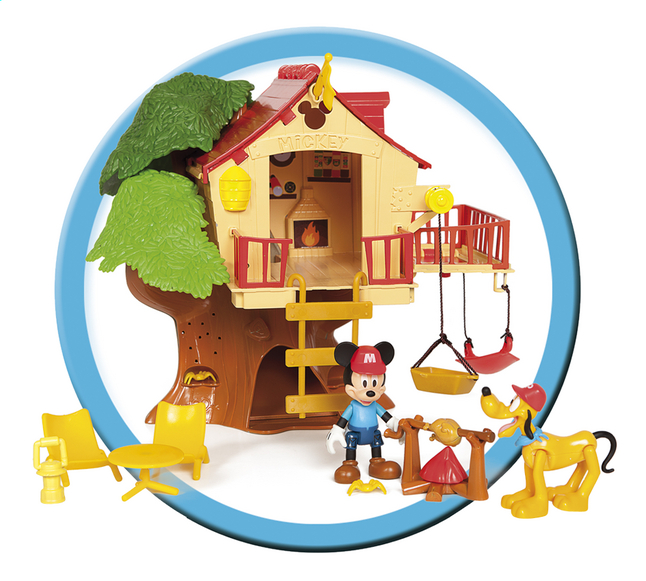Afbeelding van Speelset Mickey Mouse Clubhouse Tree house adventure from DreamLand