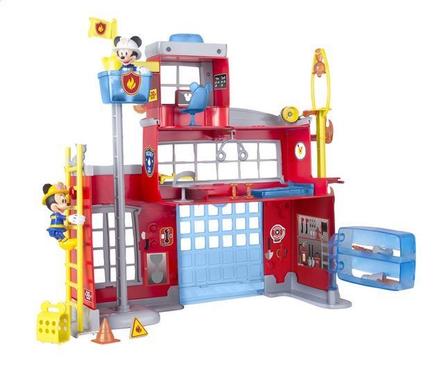 Afbeelding van Speelset Mickey Mouse Clubhouse To the rescue fire station from DreamLand