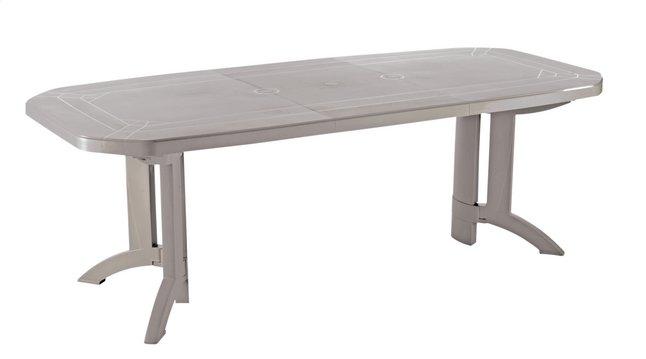 Image pour Grosfillex table de jardin à rallonge Vega beige L 160 x Lg 100 cm à partir de DreamLand