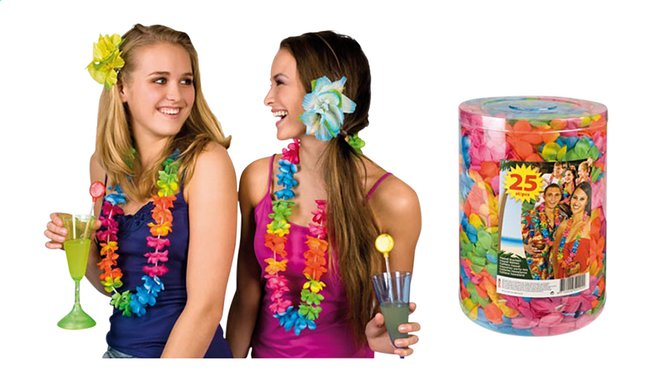Collier hawaïen - 25 pièces