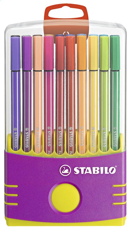 Image pour STABILO feutre Pen 68 Color Parade mauve - 20 pièces à partir de DreamLand