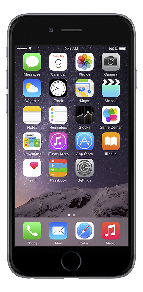 Afbeelding van Apple iPhone 6 Plus 16 GB spacegrijs from DreamLand