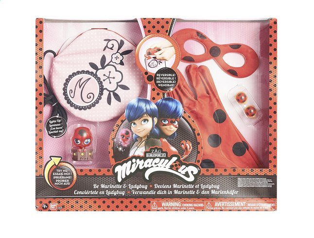 Afbeelding van Speelset Miraculous Ladybug transformatieset from DreamLand