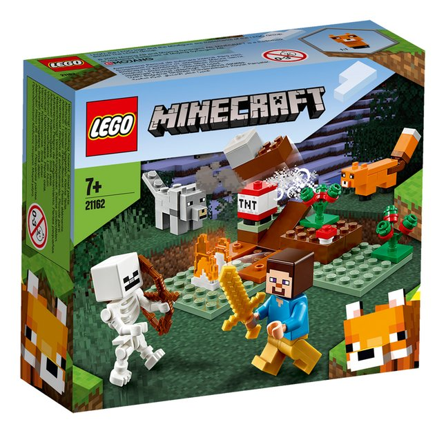 LEGO Minecraft 21162 Aventures dans la taïga