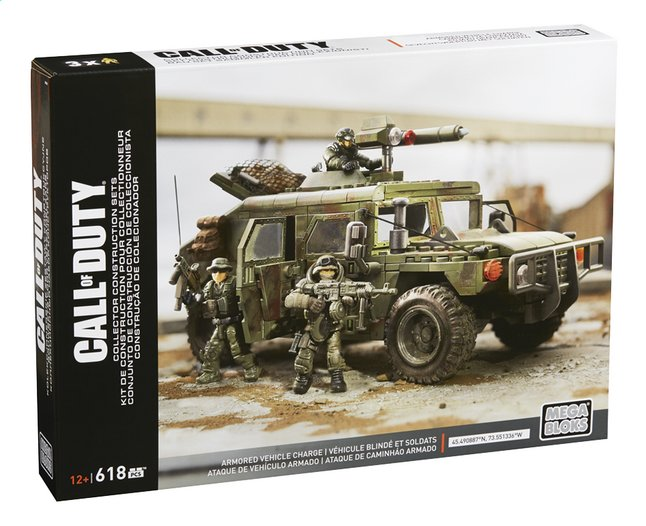 Image pour Mega Bloks Call of Duty Véhicule blindé et soldats à partir de DreamLand