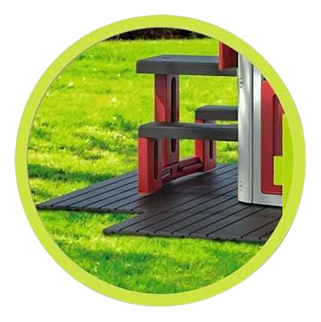 Smoby dalle de terrasse pour maisonnette Smoby - 6 pièces