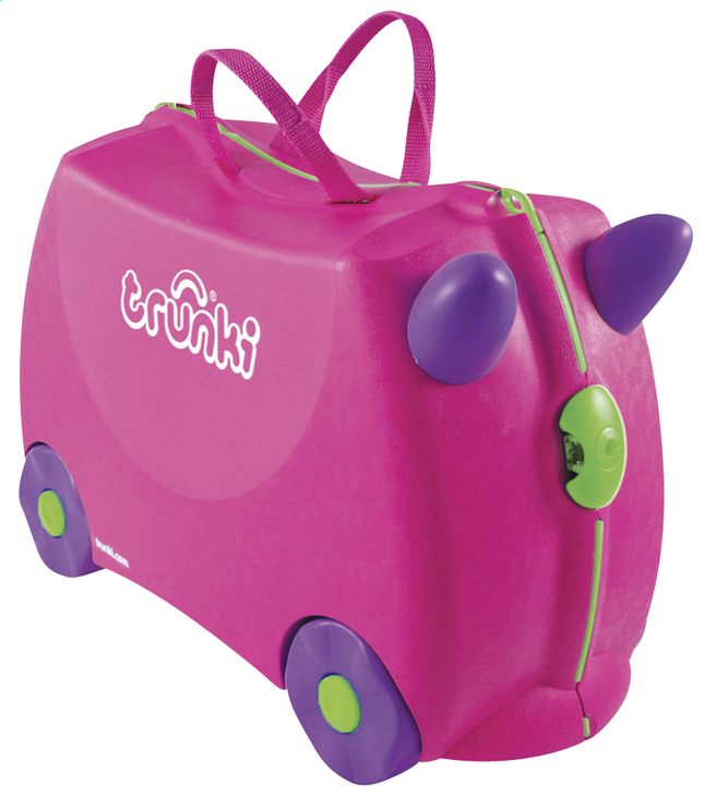 Image pour Trunki valise rigide TrunkiRide-on Trixie rose à partir de DreamLand