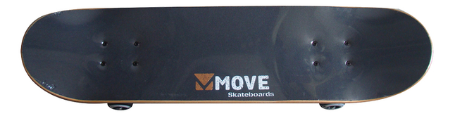 "Skate-board Move 31"""" True noir"