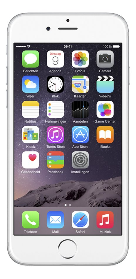 Afbeelding van Apple iPhone 6 Plus 64 GB zilver from DreamLand