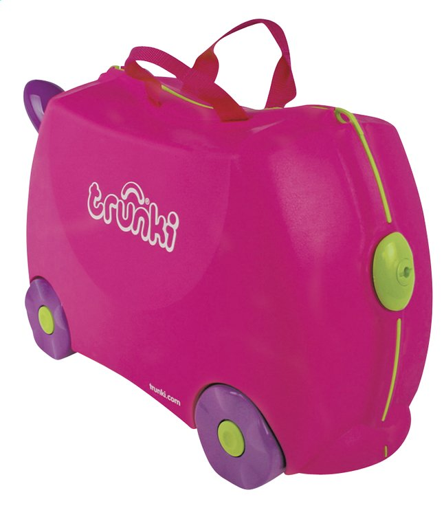 Afbeelding van Trunki trolley TrunkiRide-on Trixie roze from DreamLand