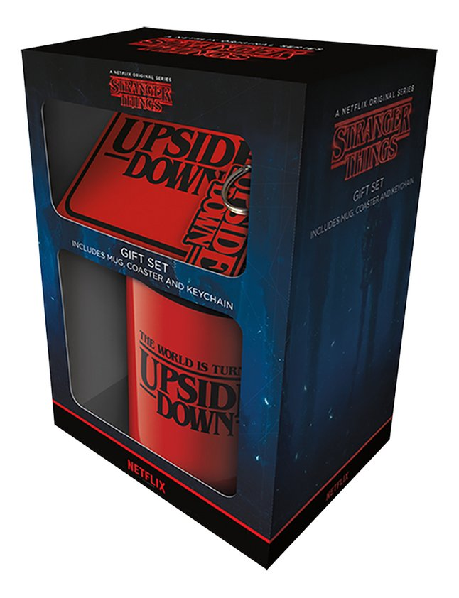 Geschenkset Stranger Things - The World Is Turning Upside Down