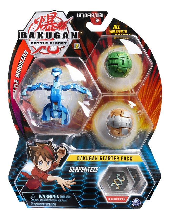 Bakugan Starter 3-Pack - Serpenteze