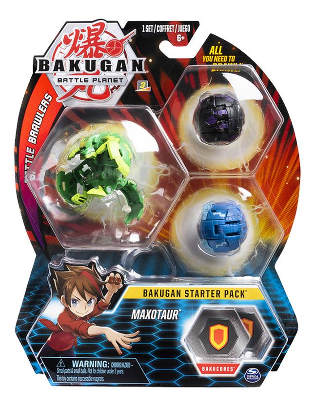 Afbeelding van Bakugan Starter 3-Pack - Maxotaur from DreamLand