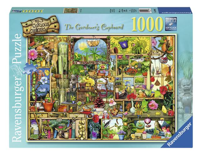 Afbeelding van Ravensburger puzzel The Gardener's Cupboard from DreamLand