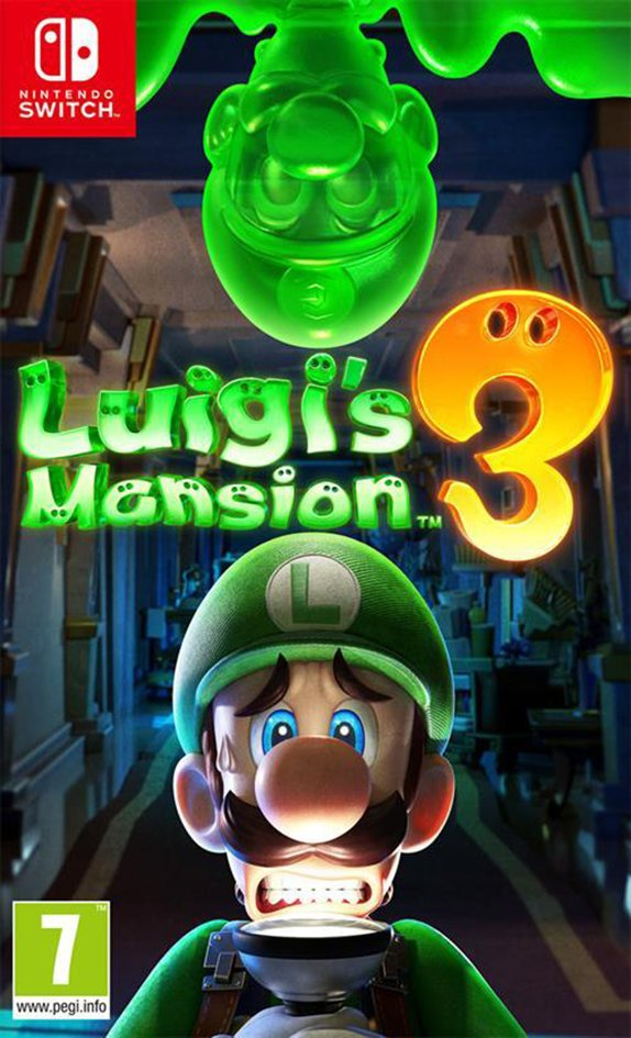 Afbeelding van Nintendo Switch Luigi's Mansion 3 NL from DreamLand