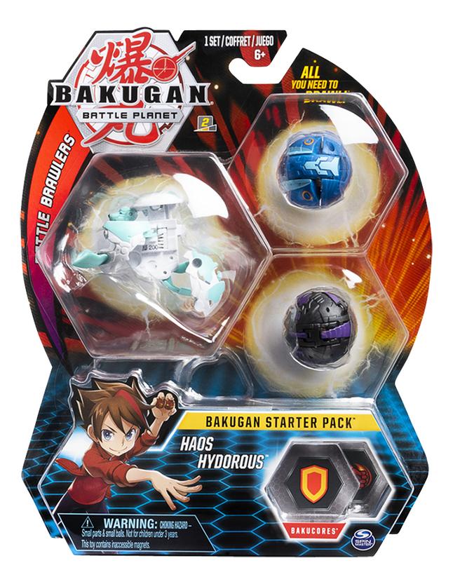 Bakugan Starter 3-Pack - Haos Hydorous