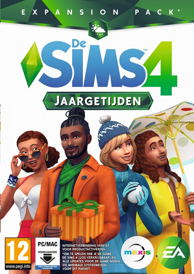 Afbeelding van PC The Sims - 4 Jaargetijden NL from DreamLand