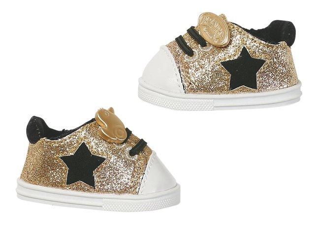 Afbeelding van BABY born Trend sneakers goud from DreamLand