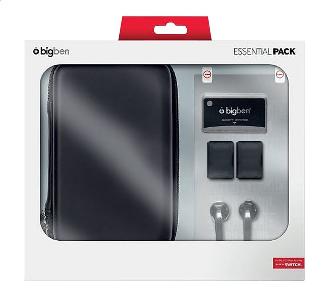 bigben Nintendo Switch Essential pack