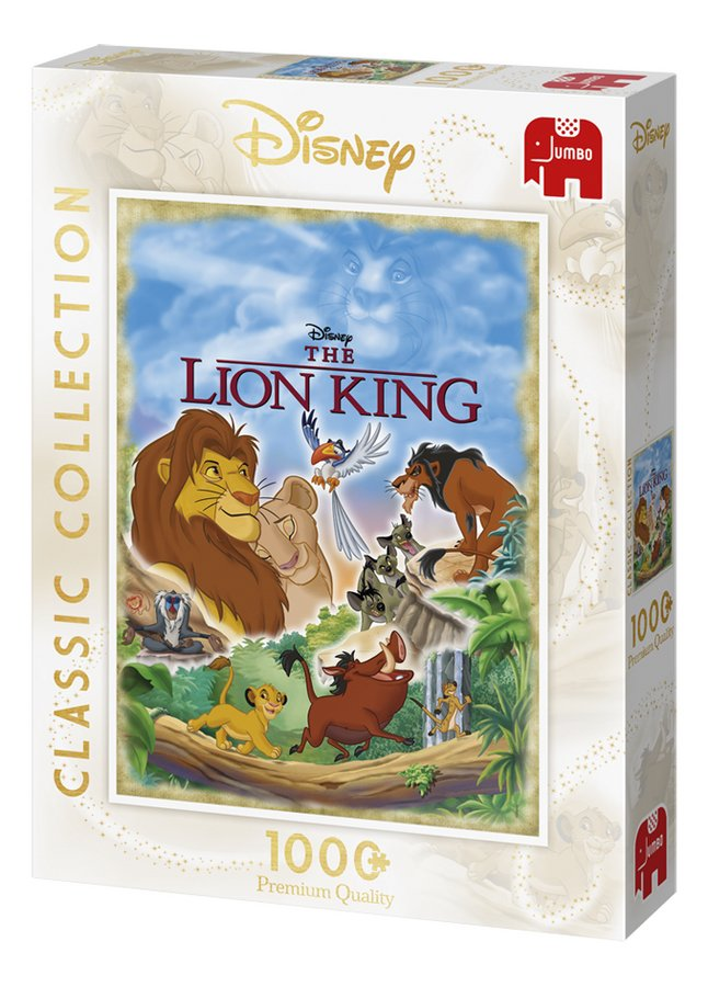 Afbeelding van Jumbo puzzel Disney De Leeuwenkoning Classic Collection from DreamLand