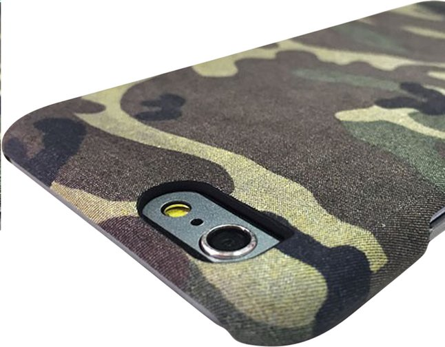 Afbeelding van i-Paint cover Camo iPhone 6/6s from DreamLand