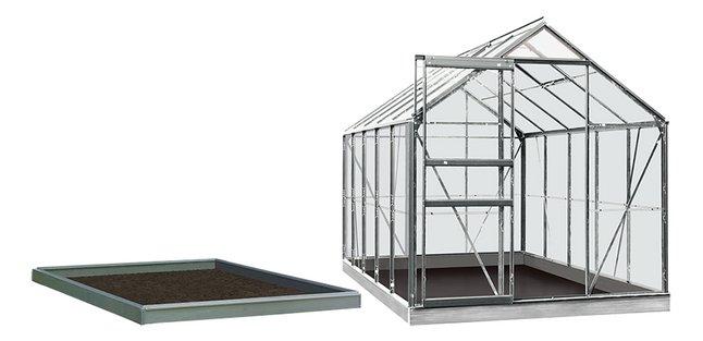 Afbeelding van ACD Serre Intro Grow Lily 6,2 m² met tuinbouwglas + fundering aluminium from DreamLand