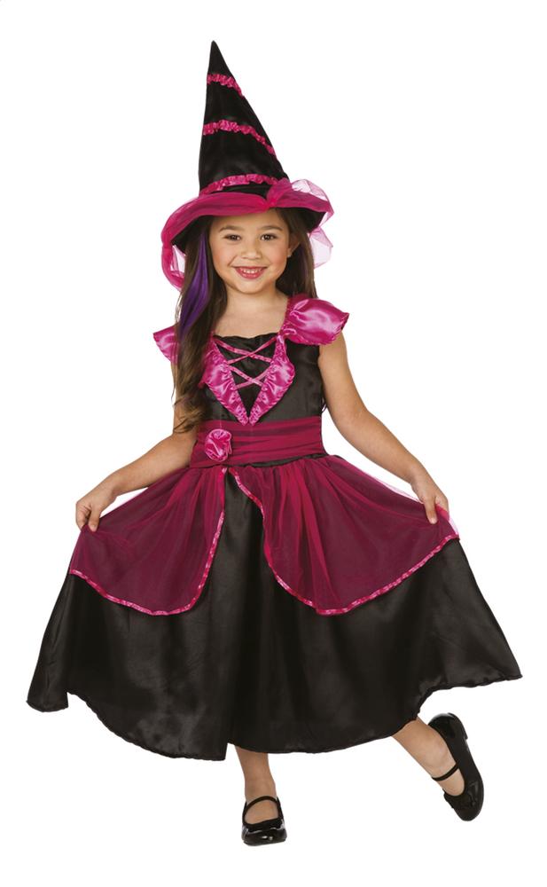 Image pour Déguisement de sorcière rose/noir taille 110 à partir de DreamLand