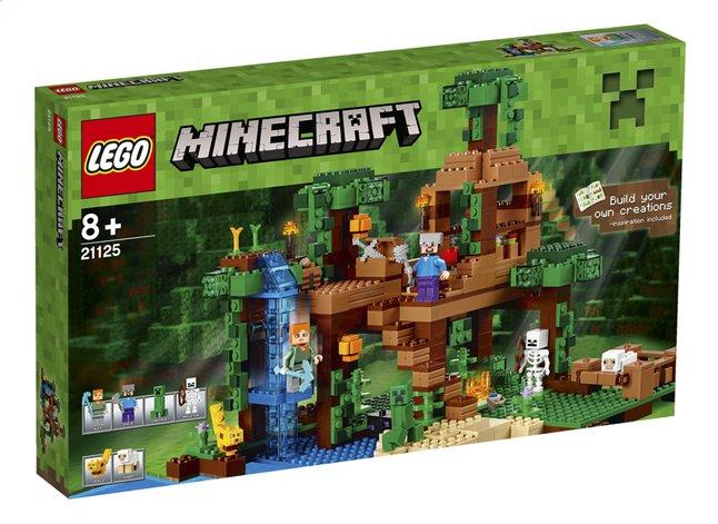 Image pour LEGO Minecraft 21125 La cabane dans l'arbre de la jungle à partir de DreamLand