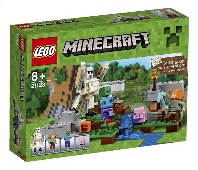 Afbeelding van LEGO Minecraft 21123 De ijzergolem from DreamLand
