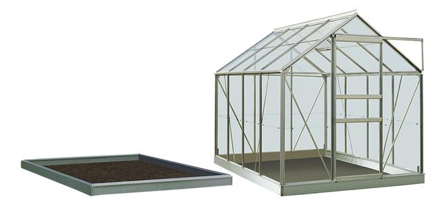 ACD serre Intro Grow Ivy 5 m² avec verre horticole + embase aluminuim