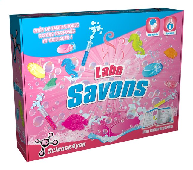 Afbeelding van Science4you Labo Savons FR from DreamLand