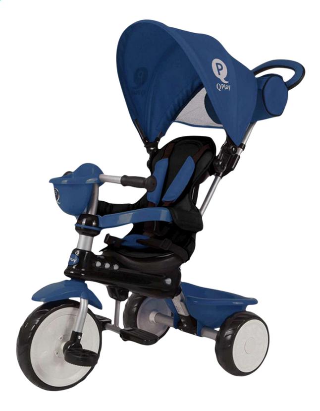 Afbeelding van QPlay driewieler 4-in-1 Comfort blauw from DreamLand