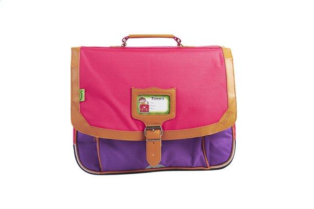 Afbeelding van Tann's boekentas Classic violet/roze 38 cm from DreamLand