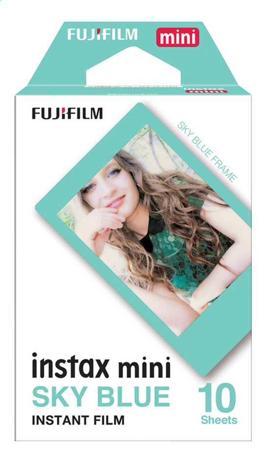 Image pour Fujifilm pack de 10 photos pour instax mini Sky Blue à partir de DreamLand